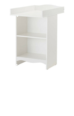 IKEA Changing table SOLGUL for babies , White , Article no: 703.624.46