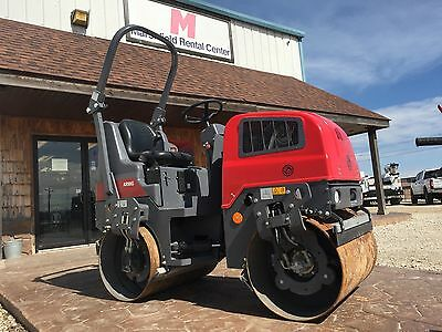 Chicago Pneumatic Double drum Roller Compactor By DynaPac