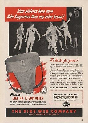 Vintage 1948-68 JOCK STRAPS, ATHLTIC SUPPORTERS Print Ads (Priced Per Ad)