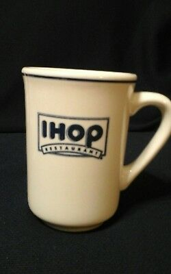 "IHOP International House Of Pancakes Buffalo China Restaurant Ware 4"" Coffee Mug"