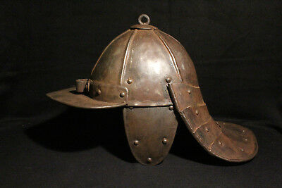 Helmet called Papenhaim or Zischagge type, early 17th century, central Europe