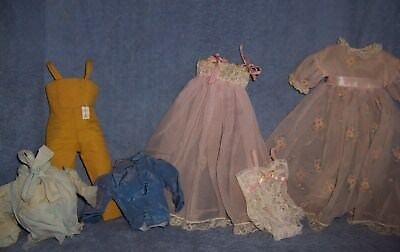 NICE Vintage Early 1960s Madame Alexander Original TAGGED ELISE Doll Clothes Lot
