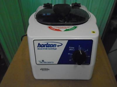 horizon mini B centrifuge drucker 612B with tube adapters and manual