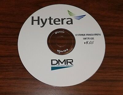 HYTERA CPS PROGRAMMING SOFTWARE v8.05 with WIDEBAND LICENSE