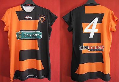 Soccer Jersey Proact Worn Racing club Narbonne RCNM - XL