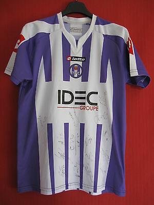 Football jersey TFC Toulouse IDEC Lotto dedication Players Child - 14 years / XL