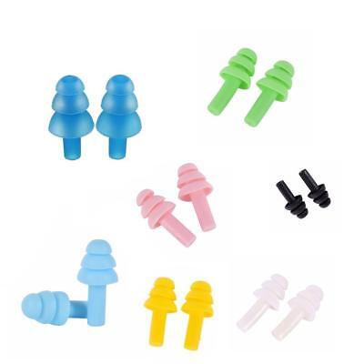 5 Pairs Silicone Ear Plugs Anti Noise Snore Earplugs Comfortable For Study
