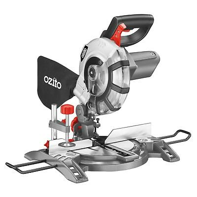 Ozito COMPOUND MITRE SAW CMS-1621 1600W 210mm D-Handle *Australian Brand