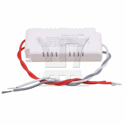AC220-240V to12V 105W Driver Power Supply Electronic Transformer  White