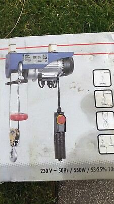 Brand New electric hoist 250kg