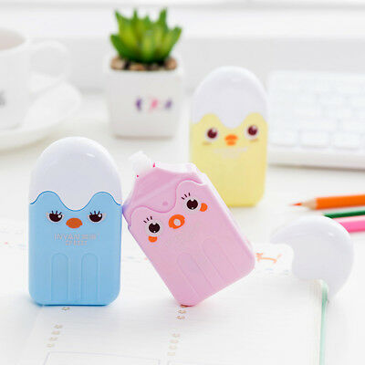 Creative Chicken Roller Out Correction Tape School Office Study Stationery White