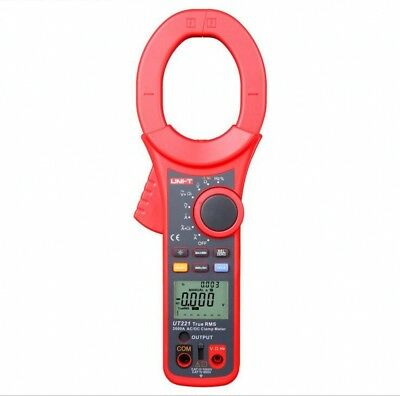 UNI-T UT221 2000A True RMS Digital Clamp Meter AC Volt Ohm Frequency Tester New