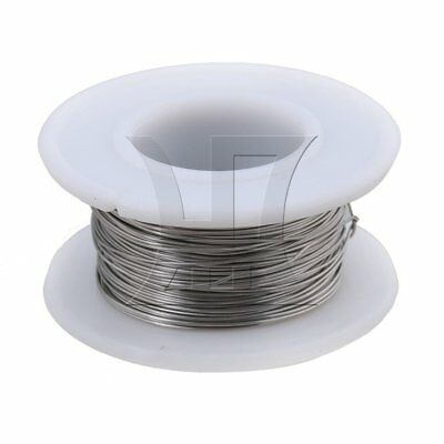 2000cm 2080 Nickel-chromium Wire 0.4mm Dia Heating Wires Silver White