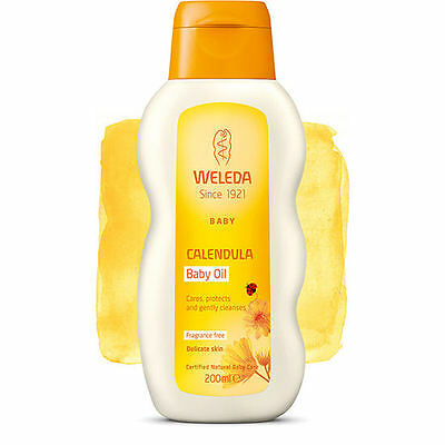 Weleda Calendula Baby Oil (Fragrance Free) - 200ml