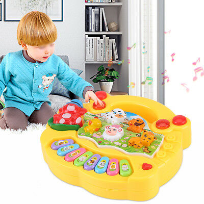 Hot Baby Infant Toddler Kids Musical Piano Developmental Early Educational Toy
