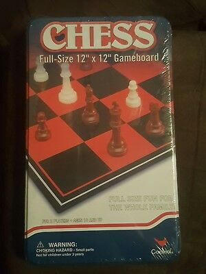Brand new sealed - cardinal - Classic Games Chess - free shipping