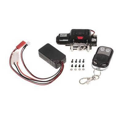 Warn 9.5CTI Winch With Wireless Remote Controller Receiver for Axial RC Crawler