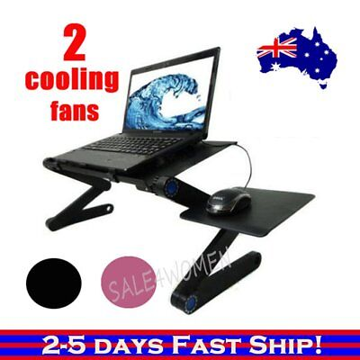 Laptop Computer Notebook Table Stand Desk Bed Tray Adjustable Folding Portable&