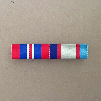 1939 - 1945 War + 1939 - 1945 Australian Service Medal Ribbon Bar | WSM | ASM