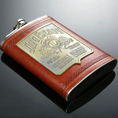 9oz Pocket Liquor Hip Flask Whiskey Alcohol Wine Flagon Drink Bottle Mens Gift