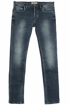 Jack   Jones Tim Jeans Hose Pants Herren Used Look Denim Stretch Slim Fit 07fa4b2410
