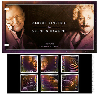 Official Einstein to Stephen Hawking General Relativity Presentation Pack (UK41)