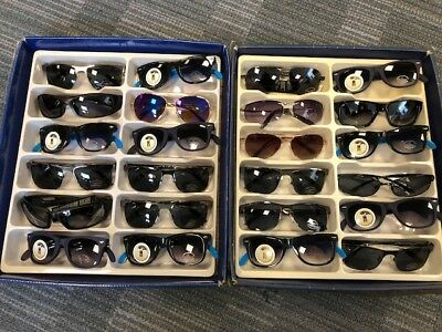 Job Lot 24 pairs of assorted sunglasses - Car Boot - Resale - Wholesale - REF041