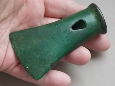 Circa 2000 -1600 Bce Bronze Age European Axe Head Rare
