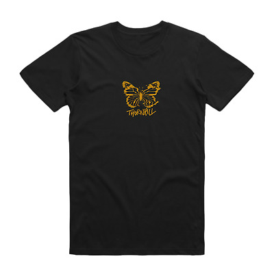 Thornhill Butterfly Tee (Black) 24Hundred