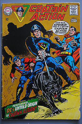Captain Action   DC National   Comic Book   #1   G/better