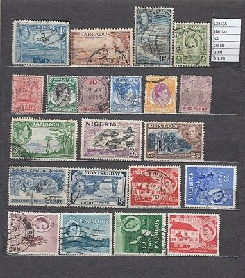 Stamps  Lot British Colonies  Used (L22665)