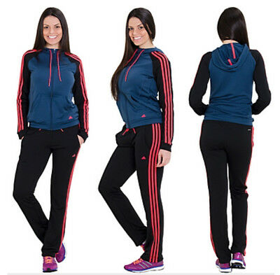 ADIDAS Damen Hoody Trainingsanzug ClimaLite Jogginganzug New Young 2XS - XL