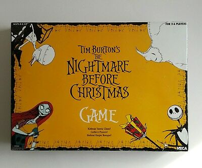 Neva Nightmare Before Christmas Board Game VGC*Complete* Tim Burton