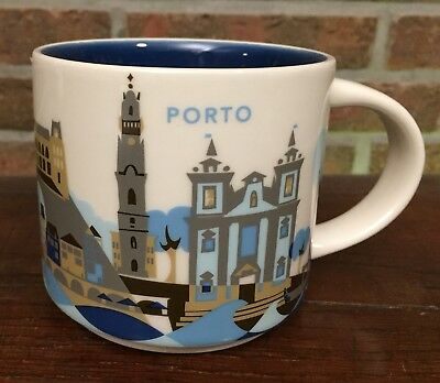 Starbucks You Are Here Collection Porto Portugal New NEU mit SKU
