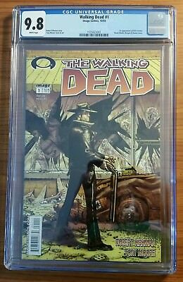 The Walking Dead #1 CGC 9.8 White Pages (Oct 2003, Image)