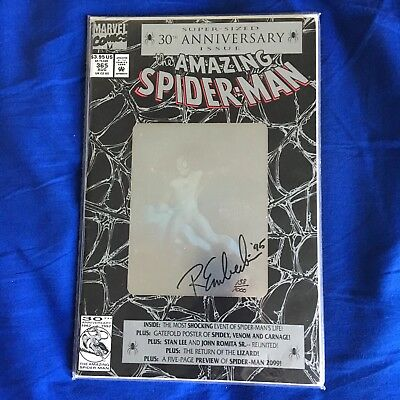Amazing Spider-Man #365 Signed by Randy Emberlin w/ COA (1992)
