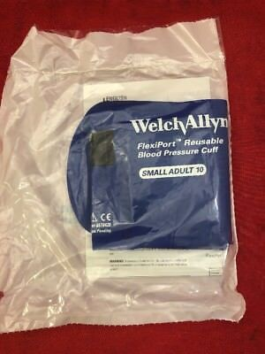 ONE NEW WELCH ALLYN FlexiPort Reusable Small Adult Blood Pressure Cuff REUSE-10
