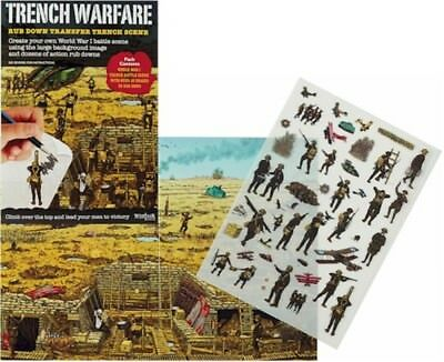 WW1 Trench Warfare Rub Down Transfer Pack 100 Year Anniversary Educational Gift