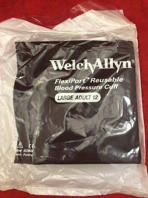 ONE NEW WELCH ALLYN FlexiPort Reusable Large Adult Blood Pressure Cuff REUSE-12