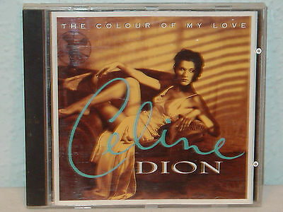 "*****cd-Celine Dion""the Colour Of My Love""*****"