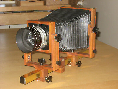 Bender Wooden 4 x 5 View Camera (Large Format) with Lens