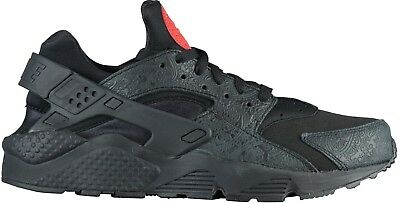 premium selection ba43a ee6f0 Nike Men s AIR HUARACHE RUN RUSSIAN FLORAL Shoes Black Red AO3153-001 c