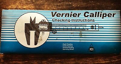 "5"" VERNIER CALIPER Steel HEAVY DUTY SLIDE 12CM"