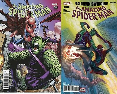 2 Amazing Spiderman 798 Regular & Humberto Ramos Variant Pre-Sale 4/4