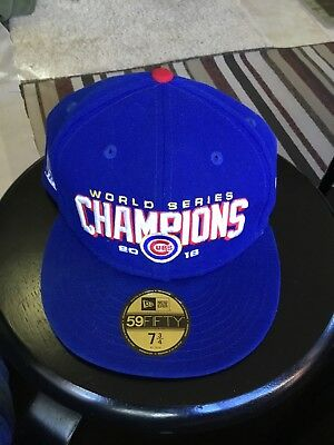 5d5452de397 New Era Chicago Cubs Royal 2016 World Series Champions 59FIFTY Fitted Hat -  MLB