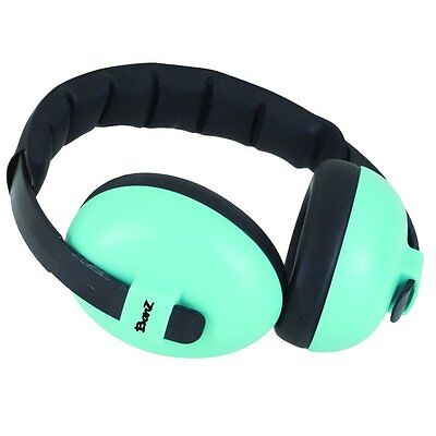 BABY BANZ NEW Turquoise Ear Muffs Mini Defenders BNWT