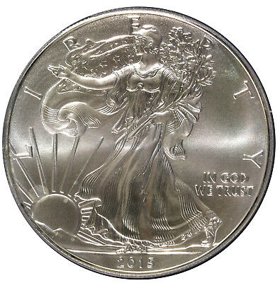 2015-W West Point American Silver Eagle $1 PCGS MS-70 Certified Graded ASE