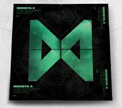 [Pre-Order] Monsta X - The Connect: Dejavu Full Package + Poster, Tracking Num