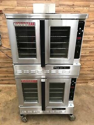 1999 Blodgett DFG-100 Premium Series Double Deck Full Size Convection