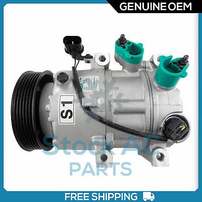 AC Compressor Fits 2011-2014 Hyundai Sonata 2011 Optima R1177317 1 Yr Warranty